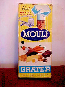 Vintage Mouli Hand Crank Cheese Grater made in France