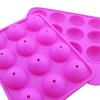 Cake Pop Mold Silicone Sphere Cupcake Lollipop Mold Baking Tools Tray Decor New