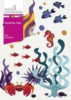 Tropical Fish Anita Goodesign Embroidery Machine Design CD NEW 22AGHD