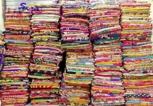 Wholesale 5 Pcs Lot Indian Vintage Kantha Quilt Reversible Handmade Blanket Twin
