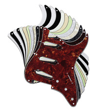More details for 8 hole strat stratocaster electric guitar pickguard scratch plate usa mex fit