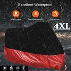 Waterproof Motorcycle XXXXL Cover For Harley Davidson Heavy Duty Rain Snow Wind