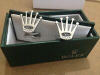 ROLEX CUFFLINKS ideal FOR  gift