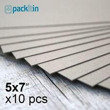 "5x7"" Backing Boards - 10 sheets 700gsm - chipboard boxboard cardboard recycled"