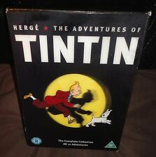The Adventures Of Tintin The Complete Collection (DVD, 2011, 5-Disc Set)