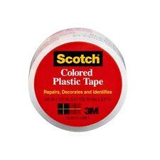 Scotch(R) Colored Plastic Tape 190CL, 3/4 in x 125 in 6/pack
