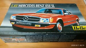1/43 HELLER MERCEDES BENZ 450 SL