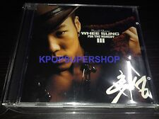 Wheesung Vol. 3  For the Moment CD Great Cond. K-POP KPOP Whee Sung Rare OOP