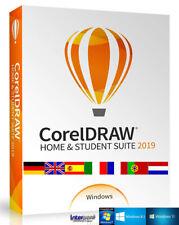 Corel Draw Home & Student Suite 2019 versión completa de ml vídeo de aprendizaje descarga nuevo