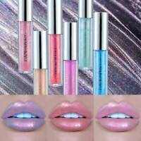 HANDAIYAN Holographic Metallic Diamond Lip Gloss Glaze Sparkling Lipstick UK