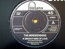 "THE MINDBENDERS - A GROOVY KIND OF LOVE  7"" VINYL"