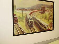 Pennsylvania Railroad  artist Grif Teller 1953 Railroad Archives Museum