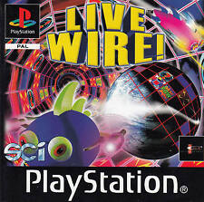 Live Wire! > Original PS1 PLAY STATION Spiel -Manual GER,F,NL,ESP,GB