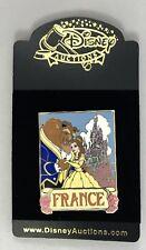 Disney Auctions (P.I.N.S.) 34532 - Belle & Beast Travel France Pin LE 1000 NIP