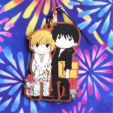 """Anime Sekai ichi Hatsukoi Onodera Ritsu Takano Masamune 3"""" Pendant Keychain Gift"""