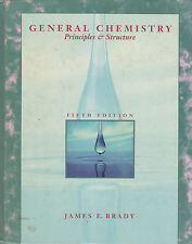 GENERAL CHEMISTRY PRINCIPLES AND STRUCTURE di James E. Brady 1990 John Wiley