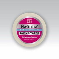 """Walker No Shine Tape 1/4"""" x 6 Yards Roll Lace Wig Extension Weft Hair System"""
