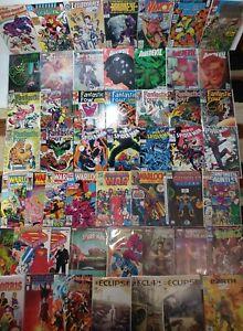 Infinity Gauntlet Infinity War #1 Marvel Comic Lot Web Spider-Man Fantastic Four
