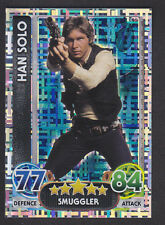 Topps Star Wars - Force Attax The Force Awakens # 195 Han Solo - Holographic