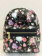Disney Alice In Wonderland Allover Print Mini Backpack By Loungefly
