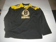 Boston Bruins RARE MISSPELLED Joe Thornton sz16/18 Home Jersey,COLLECTOR'S ITEM