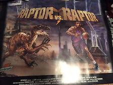 Vtg Vince Carter Gatorade Toronto Raptors Poster new dunk contest 2000 rare og