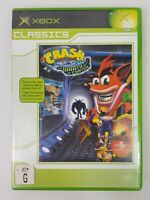 CRASH BANDICOOT The Wrath of Cortex (Microsoft XBOX) PAL Video Game - Complete