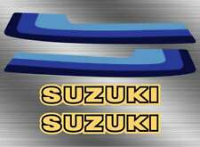 1980 80' Suzuki RM125 fuel tank 4pc vintage decals stickers graphics