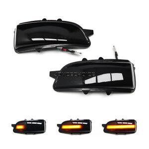 For Volvo C30 C70 S40 S60 V40 V50 V70 08-10 LED Dynamic Mirror Sequential Light