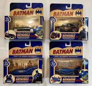 Corgi Batman Batmobile and Submarine