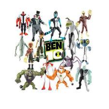 Ben 10 Ten Single Figures 10cm Alien X Waybig Ripjaws Gwen Job Lot Bundle Set
