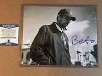 Beto O'Rourke Autographed Signed 8x10 Photo w/ Beckett COA 2020 President Rare
