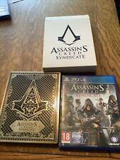 Assassin's Creed sindicato PS4 con STEELBOOK