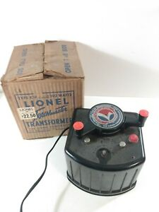 Loinel Trainmaster Type KW Transformer O SCALE UNTESTED w/Box *Read*