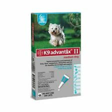 Advantix Advx-Teal-20-6 Flea And Tick Control For Dogs 10-22 Lbs 6 Month Supply