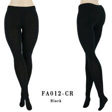 ELENPRIV FA012-CR black jersey tights for Barbie Curvy MTM Collector dolls