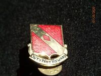 Vintage US Army 20th Field Artillery Regiment Crest DI DUI Insignia Device