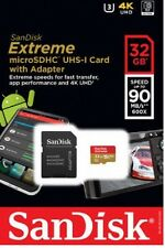 SanDisk 32GB microSD Extreme 90MB/s 4K micro SD SDHC 32G microSDHC SDSQXVF-032G