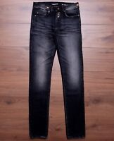 SAINT LAURENT PARIS 890$ Low Waisted Skinny Jeans In Washed Black Denim