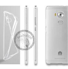 CUSTODIA COVER PER Huawei Mate 8 SLIM TRASPARENTE morbido TPU + pellicola