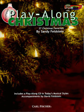 "PLAY-ALONG CHRISTMAS FOR ""TRUMPET"" W/PIANO ACC. MUSIC BOOK/CD-BRAND NEW ON SALE!"