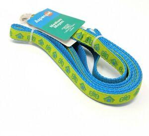 New 5 Ft Long Blue Green Nylon Dog Pet Leash Lead