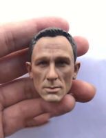"Custom 1/6 James Bond 007 Daniel Craig HeadSculpt fit 12"" Male figure body"