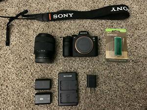Sony Alpha A7 III 24.2MP Digital Camera - Black (Kit with FE 28-70 mm lens)