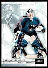 2002-03 Upper Deck Mask Collection Evgeni Nabokov #74