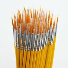 """10Pcs """"Paint Brushes Set"""" Oil Watercolor Nylon Painting Brush Cepillo De Pintura"""