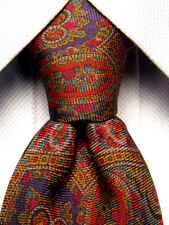 Libert of London Red Olive Silk Tie A2614