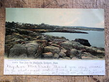 View from Headlands Rockport Ma 1906