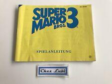 Notice - Super Mario Bros 3 - Nintendo NES - PAL NOE