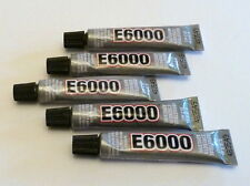 5 x tubes of E-6000Jewellery & Craft Glue Adhesive 5.32ml / .18Fl.OZ